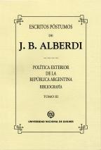 Escritos póstumos de J B Alberdi Tomo III