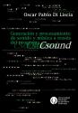 Generación y procesamiento de sonido y música a través del programa Csound