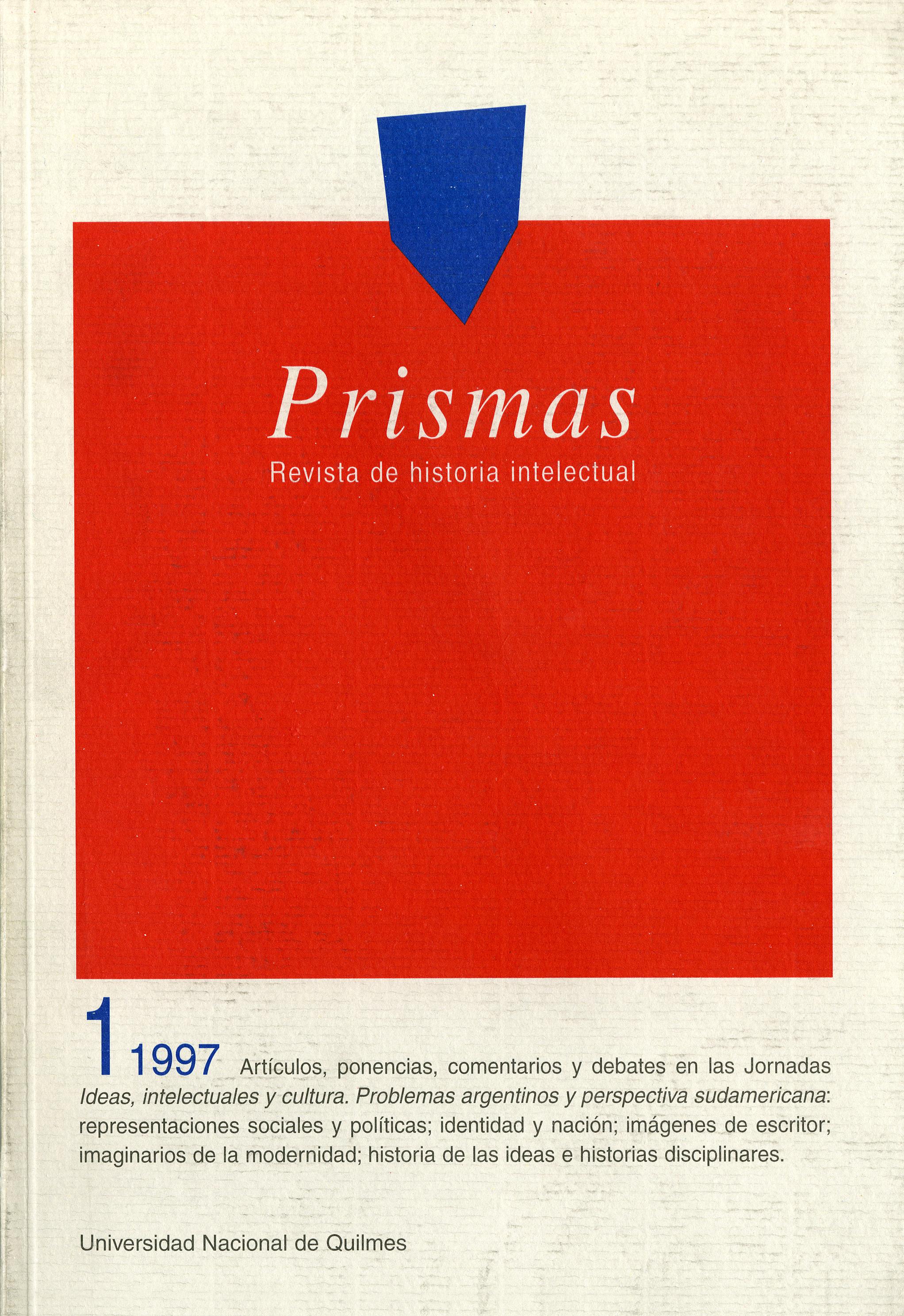 Prismas. Revista de Historia Intelectual