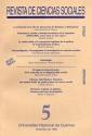 Revista de Ciencias Sociales N 5