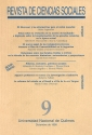 Revista de Ciencias Sociales N 9