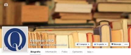 Editorial UNQ en las redes