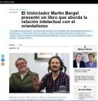 Martín Bergel presentó su libro en el Museo del Cabildo