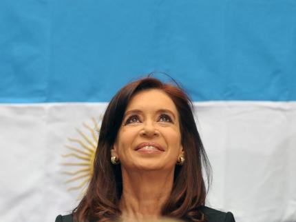 Cristina Fernaacutendez de Kirchner