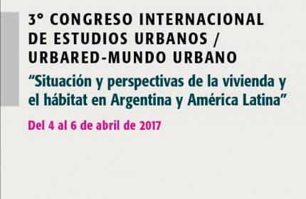 3ordm Congreso Internacional de Estudios Urbanos