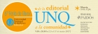 6 Feria de libros De la Editorial UNQ a la comunidad