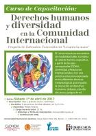 Curso de Capacitación en Derechos humanos y diversidad en la Comunidad Internacional