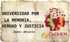Universidad por la Memoria Verdad y Justicia Radio Abierta en la UNQ
