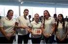Alumna de la UNQ premiada en Francia por su proyecto SweetSport