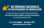 XXI Jornadas Nacionales de Investigadores en Comunicación