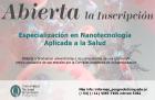 Nueva carrera acreditada Especialización en Nanotecnología Aplicada a la Salud