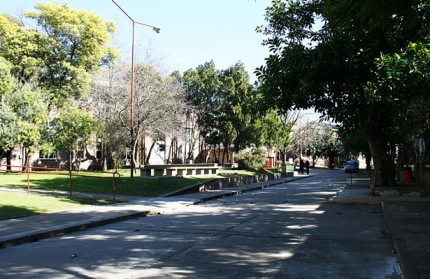 Calle principal archivo