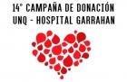 14 Campaña de donación de sangre en la UNQ