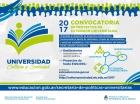 Convocatoria Universidad Cultura y Sociedad2017