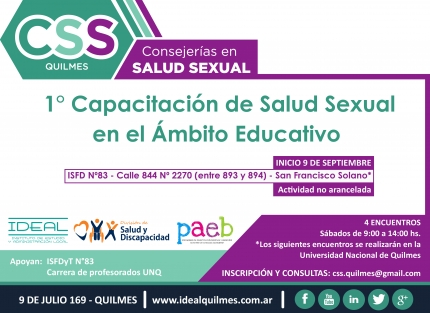 Salud sexual en el aacutembito educativo