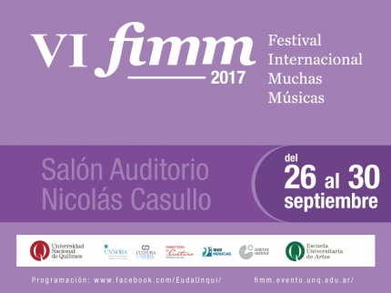 VI Festival Internacional Muchas Muacutesicas 2017