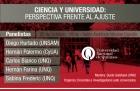 Panel sobre ciencia y universidad en la UNQ