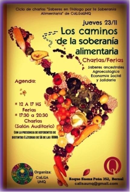 Cátedra Libre de Soberanía Alimentaria en la UNQ