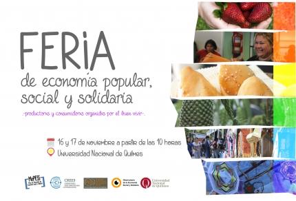 Feria de la Economiacutea social y solidaria