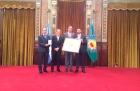 Graduado de la UNQ recibe el Premio Provincia de Buenos Aires