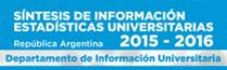 SNTESIS DE INFORMACIN ESTADSTICAS UNIVERSITARIAS