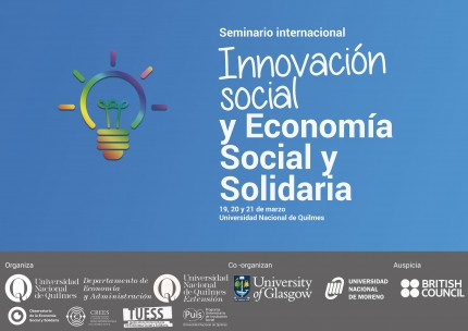 Seminario Innovacioacuten social en la UNQ
