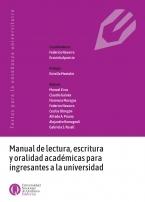 Manual de lectura escritura y oralidad académicas para ingresantes a la universidad