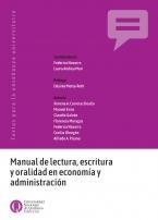 Manual de lectura escritura y oralidad en economía y administración