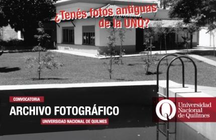 Archivo fotograacutefico UNQ