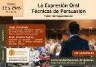 Taller La Expresión Oral Técnicas de Persuasión