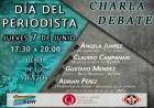 Charla-debate por el día del periodista