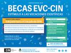 Becas de Estímulo a las Vocaciones Científicas EVC para estudiantes universitarios de grado