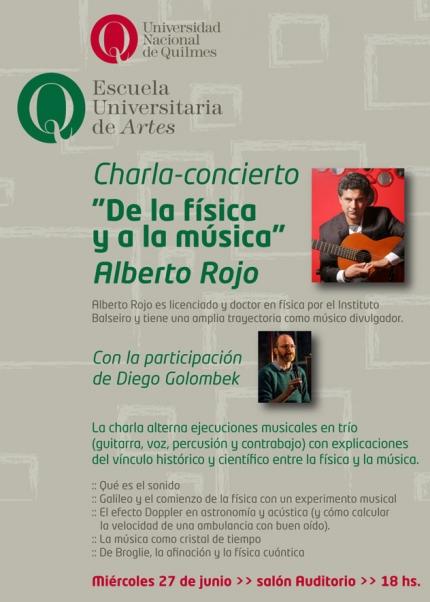 Charla Alberto Rojo