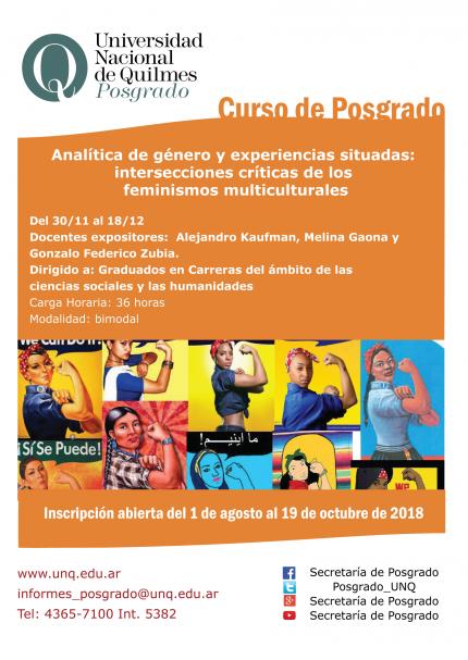 Analiacutetica de geacutenero y experiencias situadas intersecciones criacuteticas de los feminismos multiculturales