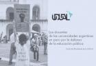 Los docentes de las universidades argentinas en paro por la defensa de la educación pública
