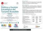 Diplomado Política y gestión estratégica del Turismo accesible