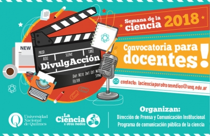 Semana de la Ciencia - Convocatoria para docentes investigadores