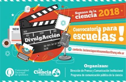 Semana de la Ciencia - Convocatoria para escuelas