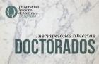 Inscripciones a doctorados 2019