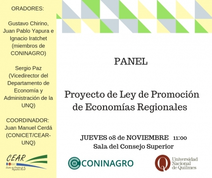Panel Cear Coninagro