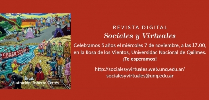 5to nuacutemero de la revista digital Sociales y Virtuales