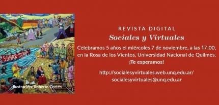 5to nuacutemero de la revista digital Sociales y Virtuales