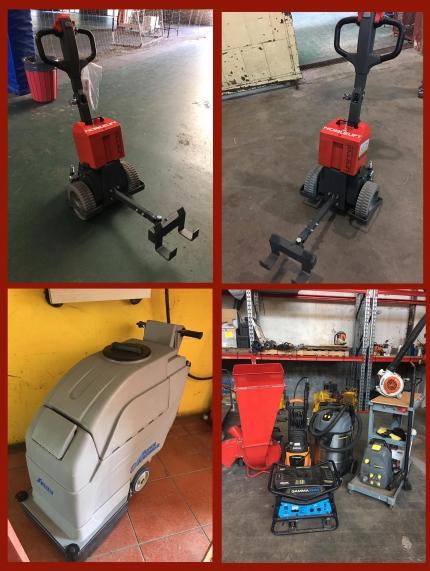 Nuevas herramientas eléctricas y maquinarias de limpieza