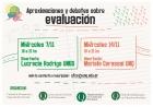 Taller Aproximaciones y debates sobre evaluación