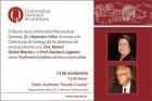 Docentes UNQ recibirán el diploma de Profesores Eméritos