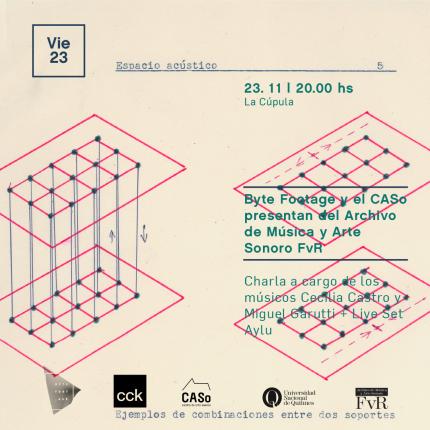 Presentacioacuten oficial del Archivo de Muacutesica y Arte Sonoro FvR