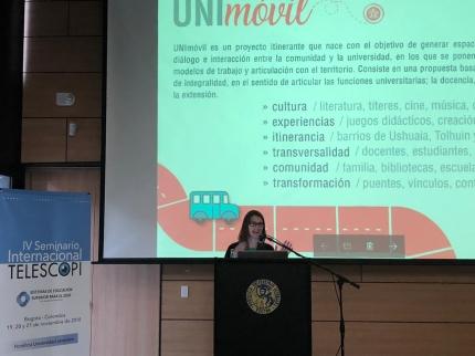 Se presentoacute el proyecto UNImoacutevil