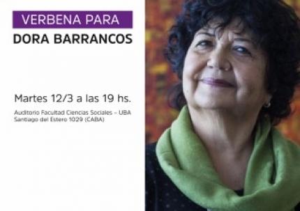 Verbena para Dora Barrancos