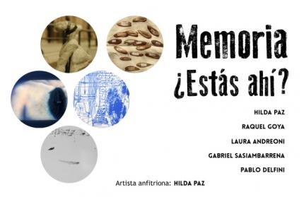 Memoria iquestEstaacutes ahiacute