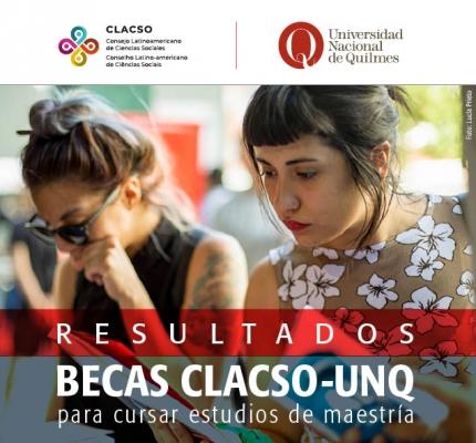 Resultados de las becas CLACSO-UNQ